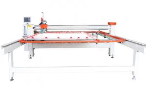 Quilt Blanket Making Long Arm Servo Motor Single Needle Quilting  Machine